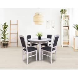 Valgomojo komplektas (stalas ir 4 kėdės)