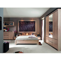 Guļamistabas komplekts KASP ar 6 durvju skapi